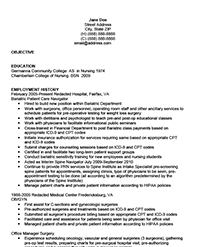 Sample Nursing Resume | Resume Express